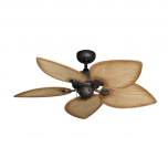 "42"" Bombay Ceiling Fan - Oil Rubbed Bronze with Tan Blades"
