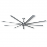 "96"" TroposAir Liberator Ceiling Fan - Brushed Nickel"