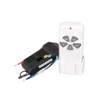 Complete Ceiling Fan Remote Kit - Handset and Receiver Included