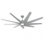 """72"""" Liberator - Brushed Nickel - Shown with LED Light (sold separately)"""