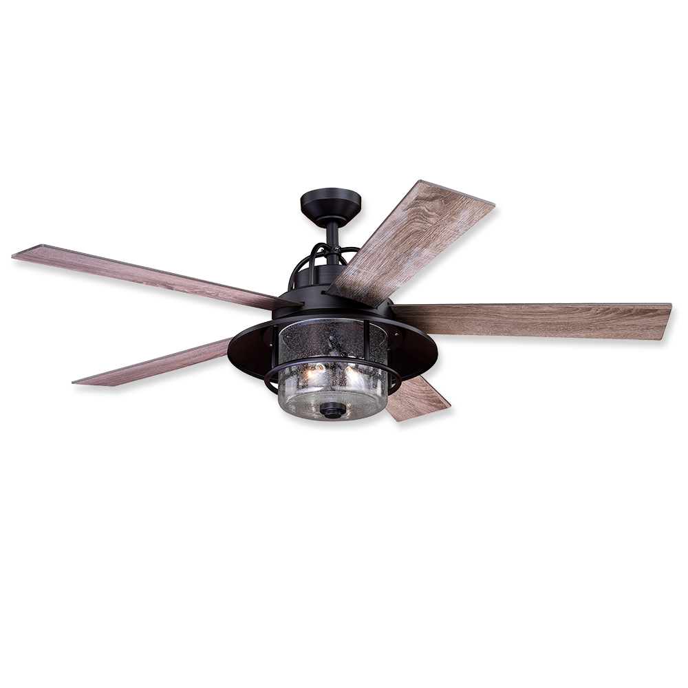Vaxcel Charleston 56 Led Outdoor Ceiling Fan New Bronze