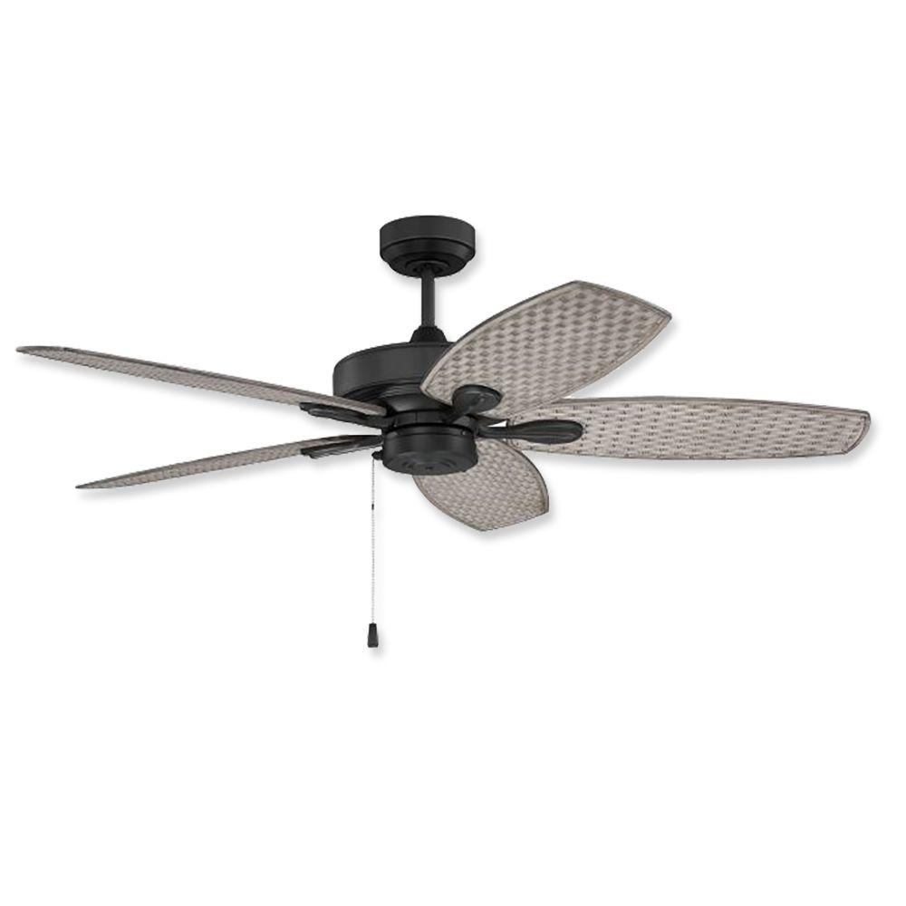 Black Outdoor Ceiling Fans With Lights 2022
