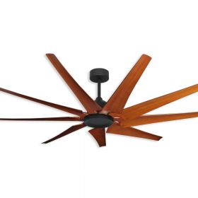 "72"" Liberator Ceiling Fan - Oil Rubbed Bronze - Natural Cherry Finish Blades"