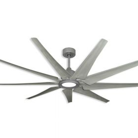 """TroposAir Liberator - 72"""" Indoor/Outdoor WiFi Enabled Ceiling Fan w/ New Blade Options"""