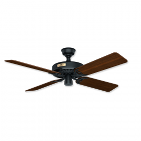 "Hunter Original 52"" Outdoor Ceiling Fan Matte Black"