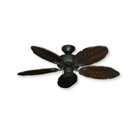 "42"" Tropical Dixie Belle - Oil Rubbed Bronze - Dark Walnut Blades"