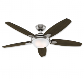 "Hunter Contempo 52"" LED Ceiling Fan Brushed Nickel"