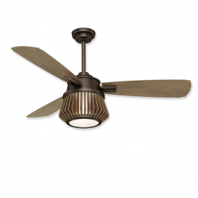"Casablanca Glen Arbor 56"" LED Ceiling Fan Metallic Chocolate"