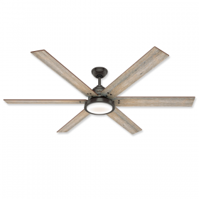 "Hunter Warrant 70"" DC LED Ceiling Fan"