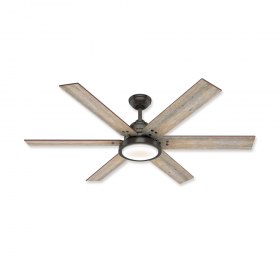 "Hunter Warrant 60"" DC LED Ceiling Fan"