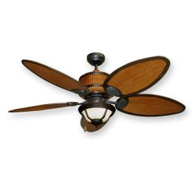 Cane Isle Ceiling Fan by Gulf Coast with 190 Light
