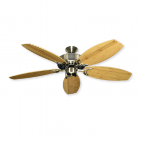 "52"" Oar Dixie Belle Ceiling Fan - Antique Brass"