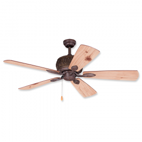 "Vaxcel Alpine 52"" Outdoor Ceiling Fan Weathered Patina"