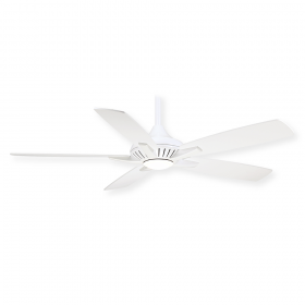 "Minka Aire Low Profile FN1000 - 52"" Ceiling Fan with LED Light & Remote"