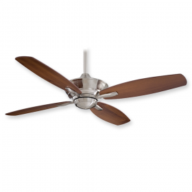 "Minka Aire New Era F513 - 52"" Ceiling Fan Brushed Nickel"