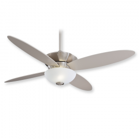 "Minka Aire Zen F514-BN - LED - 52"" Ceiling Fan Brushed Nickel"