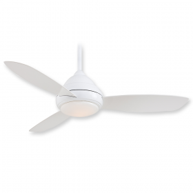 "Minka Aire Concept I F517L-WH - LED - 52"" Ceiling Fan White"
