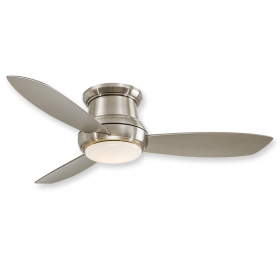 "Minka Aire Concept II F519L-BN - LED - 52"" Ceiling Fan Brushed Nickel"