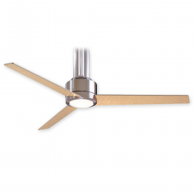 "Minka Aire Flyte F531-L-BN - LED - 56"" Ceiling Fan Brushed Nickel"
