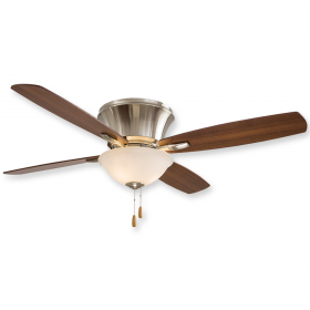"Minka Aire Mojo II F533-BN - 52"" Ceiling Fan Brushed Nickel"