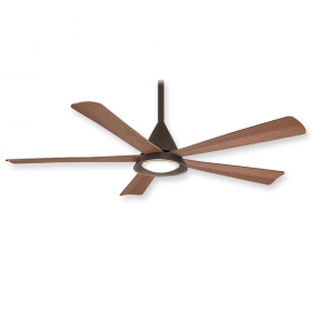 "Minka Aire Cone F541L-ORB - LED - 54"" Ceiling Fan Oil Rubbed Bronze"
