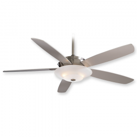 """Minka Aire Airus F598-BN - 54"""" Ceiling Fan Brushed Nickel"""