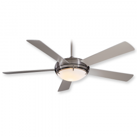 "Minka Aire Como F603-BN- 54"" Ceiling Fan Brushed Nickel"