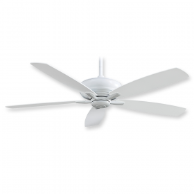 "Minka Aire Kola-XL F689-WH - 60"" Ceiling Fan White"