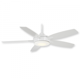 "Minka Aire Espace F690L-WH - LED - 52"" Ceiling Fan White"
