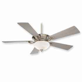 "Minka Aire Delano F701-PN - 52"" Ceiling Fan Polished Nickel"