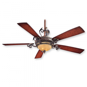 "Minka Aire Napoli F705-STW - 56"" Ceiling Fan Sterling Walnut"