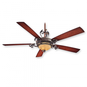 "Minka Aire Napoli F715-STW - 68"" Ceiling Fan Sterling Walnut"