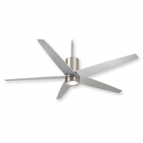 "Minka Aire Symbio F828-BN - LED - 56"" Ceiling Fan Brushed Nickel"