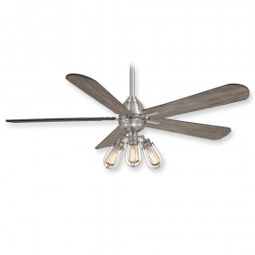 "Minka Aire Alva F852L-BN - LED - 56"" Ceiling Fan Brushed Nickel"