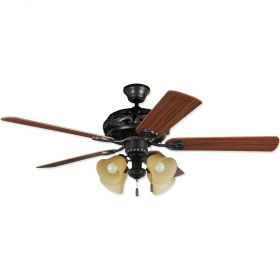 "Craftmade Grandeur GD52ABZ5C 52"" LED Ceiling Fan Aged Bronze Brushed"