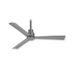 Minka Aire Simple 44 - F786-BNW - Brushed Nickel Wet