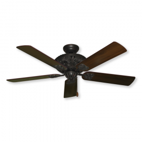 Gulf Coast Monarch Ceiling Fan - Oil Rubbed Bronze with Walnut Blades