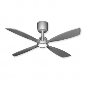 "56"" TroposAir Ninja Ceiling Fan - Brushed Nickel"