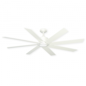 "60"" TroposAir Northstar Ceiling Fan - Pure White"
