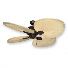"Gulf-Coast 56"" Palm Breeze II Ceiling Fan - Oil Rubbed Bronze"