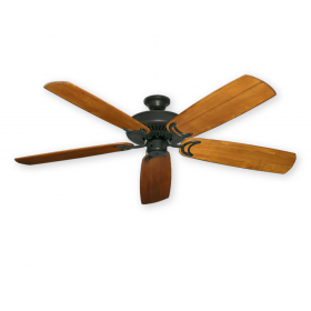 "60"" 450 Series Riviera II Ceiling Fan - Oil Rubbed Bronze - Solid-Wood Oak Blades"