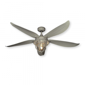 "59"" St. Augustine Ceiling Fan - Driftwood Finish"