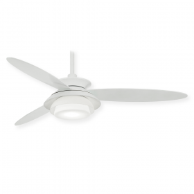 "Minka Aire Stack LED F849L - 56"" 3-Blade Contemporary Ceiling Fan + LED Light"