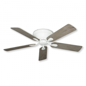 "52"" Stratus Ceiling Fan - Pure White with Driftwood Blades"